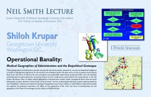 Neil Smith Lecture 2015